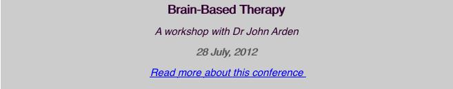 Brain-Based Therapy